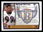 1999 Topps #97  Michael McCrary  Back Thumbnail