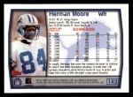 1999 Topps #142  Herman Moore  Back Thumbnail
