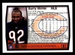 1999 Topps #81  Barry Minter  Back Thumbnail