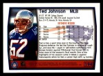 1999 Topps #194  Ted Johnson  Back Thumbnail