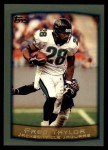 1999 Topps #25  Fred Taylor  Front Thumbnail