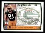 1999 Topps #135  Craig Newsome  Back Thumbnail