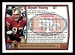 1999 Topps #105  Bryant Young  Back Thumbnail