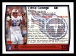 1999 Topps #175  Eddie George  Back Thumbnail
