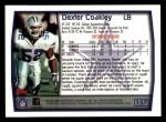 1999 Topps #157  Dexter Coakley  Back Thumbnail