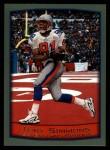 1999 Topps #52  Tony Simmons  Front Thumbnail
