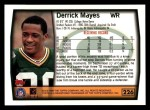 1999 Topps #226  Derrick Mayes  Back Thumbnail