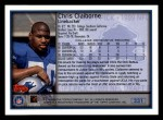 1999 Topps #331  Chris Claiborne  Back Thumbnail