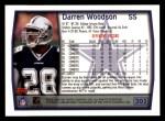 1999 Topps #205  Darren Woodson  Back Thumbnail