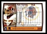 1999 Topps #304  Ken Harvey  Back Thumbnail