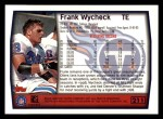 1999 Topps #211  Frank Wycheck  Back Thumbnail