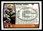 1999 Topps #210  Dorsey Levens  Back Thumbnail