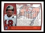 1999 Topps #276  Trent Dilfer  Back Thumbnail