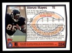 1999 Topps #224  Alonzo Mayes  Back Thumbnail