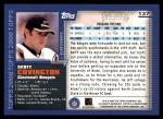 2000 Topps #137  Scott Covington  Back Thumbnail