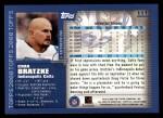 2000 Topps #111  Chad Bratzke  Back Thumbnail
