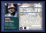 2000 Topps #14  Olindo Mare  Back Thumbnail