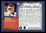 2000 Topps #155  Mike Cloud  Back Thumbnail