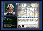 2000 Topps #189  Mo Lewis  Back Thumbnail