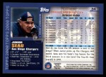 2000 Topps #34  Junior Seau  Back Thumbnail