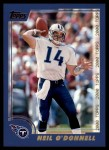 2000 Topps #118  Neil O'Donnell  Front Thumbnail