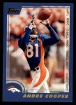 2000 Topps #178  Andre Cooper  Front Thumbnail