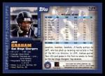 2000 Topps #125  Jeff Graham  Back Thumbnail