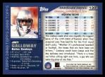 2000 Topps #130  Joey Galloway  Back Thumbnail