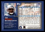 2000 Topps #261  Troy Brown  Back Thumbnail