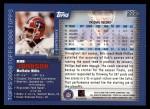 2000 Topps #202  Rob Johnson  Back Thumbnail