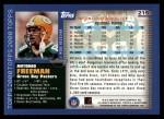 2000 Topps #215  Antonio Freeman  Back Thumbnail