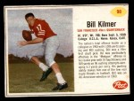 1962 Post Cereal #98  Billy Kilmer  Front Thumbnail