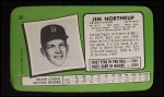 1971 Topps Super #55  Jim Northrup  Back Thumbnail