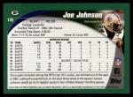 2002 Topps #145  Joe Johnson  Back Thumbnail