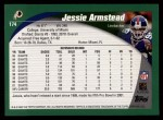 2002 Topps #174  Jessie Armstead  Back Thumbnail