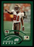 2002 Topps #104  Jacquez Green  Front Thumbnail