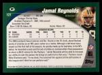 2002 Topps #127  Jamal Reynolds  Back Thumbnail