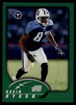 2002 Topps #184  Kevin Dyson  Front Thumbnail