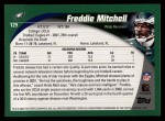 2002 Topps #129  Freddie Mitchell  Back Thumbnail