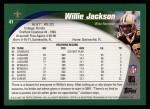 2002 Topps #41  Willie Jackson  Back Thumbnail