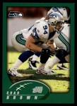 2002 Topps #59  Chad Brown  Front Thumbnail