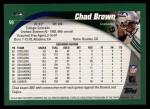 2002 Topps #59  Chad Brown  Back Thumbnail