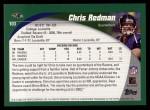 2002 Topps #103  Chris Redman  Back Thumbnail
