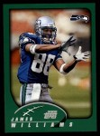 2002 Topps #24  James Williams  Front Thumbnail