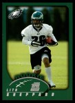 2002 Topps #328  Lito Sheppard  Front Thumbnail