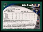 2002 Topps #319  Eric Crouch  Back Thumbnail