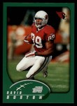 2002 Topps #235  David Boston  Front Thumbnail
