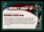 2002 Topps #309   -  Donovan McNabb Weekly Wrap-Up Back Thumbnail