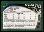2002 Topps #211  Torry Holt  Back Thumbnail