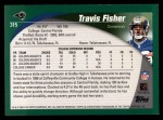 2002 Topps #315  Travis Fisher  Back Thumbnail